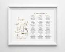 Wedding Seating Chart Sign Seating Chart Printable Seating Chart Board Seating Plan Gold Wedding Pdf Instant Download Bpb323_52