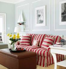 nautical living room furniture. nautical living room colors with red striped sofa httpwwwcompletely furniture