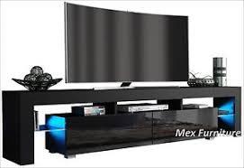 modern black tv stand. Wonderful Modern Image Is Loading ModernTVUnitCabinetStandBlackMattand On Modern Black Tv Stand D