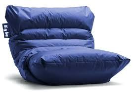 baseball bean bag chair furniture blue by big glove for