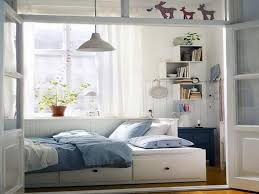 Small Bedroom Design Ikea Bedroom Beautiful White Wood Glass Cool Design Ikea Small