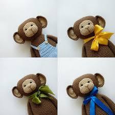Halloween crochet <b>toy</b> pattern, Amigurumi monkey pdf, Pumpkin ...