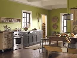 Green Kitchen Colors