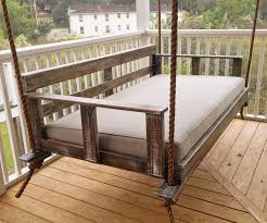 ... Large-size of Impeccable Bedroom Pallet Hanging Bed Bed Resting Time  Handmade Wooden Swing Bed ...