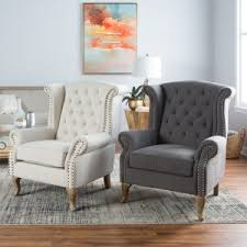 living room accent chairs. Plain Accent Belham Living Tatum Tufted Arm Chair With Nailheads In Room Accent Chairs E