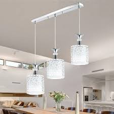 Modern Crystal Ceiling Lamps Led Lamps Living Room Dining Room Glass