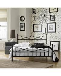 Sweet Deal on Christel Queen Metal Platform Bed Frame Black