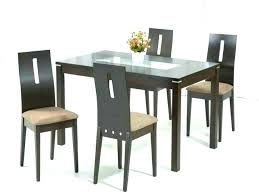 round glass top dining table designs round counter height dining round glass top dining table india