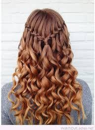 Hairstyle Waterfall best 25 waterfall braids ideas waterfall hair how 3385 by stevesalt.us