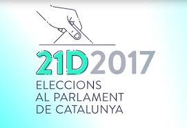 Resultat d'imatges de Campanya electoral 21D