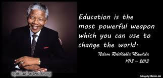 Nelson Mandela Education Quote Impressive Quotes About Education Nelson Mandela 48 Quotes
