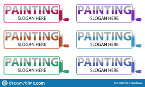 Remodeling And Design Business Vector Painting Business Logo Logotype Design Related To