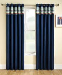 Navy And White Curtains Navy Blue Curtains For Bedroom Shoe800com
