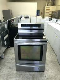 stainless steel glass top stove excellent kitchen stove the black and stainless steel glass top in electric flat top stove attractive kenmore stainless