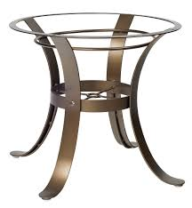 cascade dining table base