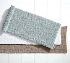 pottery barn bathroom rugs textured organic bath rug double wide pottery barn bath rugs reviews