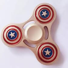 sharp gold fidget spinner. universal gold captain america full metal fidget spinner toy sharp gold fidget spinner s