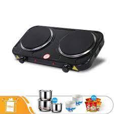 Bếp điện đôi PERFECT HP789 - Tặng 3 bộ nồi inox + 10 chén sứ