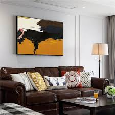 big canvas modern abstract painting