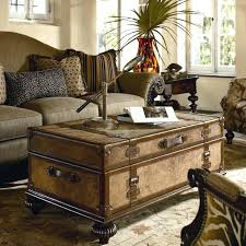 vintage trunk coffee table 16 old trunks turned coffee tables that bring extra storage and in