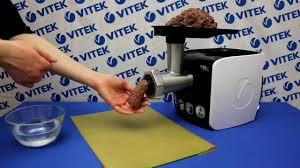 Кеббе из говядины в <b>мясорубке</b> VITEK VT-3602 BW - YouTube