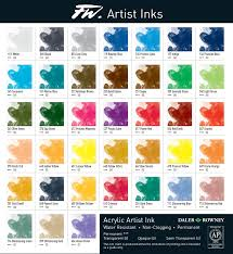 Fw Artist Acrylic Ink 29 5ml Daler Rowney