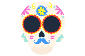 Use by itself or copy and mirror it for a toast. Sugar Skull Svg Cut File By Creative Fabrica Crafts Creative Fabrica