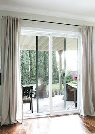 extra long drapery rods beautiful curtains for sliding glass doors the ignite show within curtain ideas i59