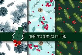 Christmas Seamless Pattern Graphic By Jannta Creative Fabrica In 2020 Seamless Patterns Holiday Paper Christmas Vectors