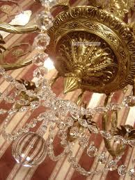 8 Fl Lüster Kronleuchter Gold Bronze Alte Lampe Große
