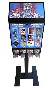 Sticker Vending Machines Gorgeous Check Out This Custom Sticker Vending Machine Sticker Robot