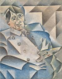 portrait of picasso 1912 oil on canvas the art institute of chicago