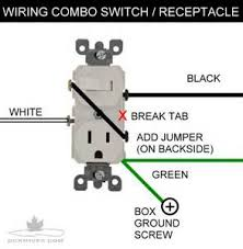 light switch outlet combo wiring bing images, light switch outlet Switch Receptacle Combo Wiring Diagram making the switched receptacle cooper combo switch receptacle wiring diagram