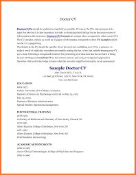 Doctor Cv Template Australia Resident Physician Free Templates