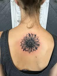 Sunflower Back Tattoo Tattoos Sunflower Tattoos Tattoos Sun