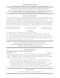 Sample Resume For Teachers Example Of Resume For Teachers Resume For