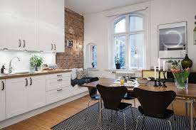 Small Picture Charming Small Studio Apartment With Spacious Kitchen