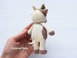 Crochet Cow Pattern Custom Design