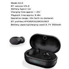 TWS Air3 Bluetooth 5.0 kablosuz kulaklık dokunmatik kontrol kablosuz şarj  otomatik eşleştirme su geçirmez kulaklık Stereo kulaklıklar|Bluetooth  Kulaklık & Kulaklıklar