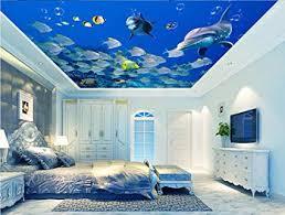 LWCX Custom Photo 3D Ceiling murals Wallpaper Home Decor 3D Wall ...