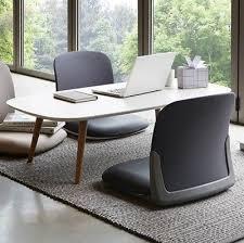 ergonomic low chair folding floor leather seat tatami anese style legless