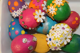 Easter Egg Designs Ideas North Texas Kidseaster Egg Decorating Idea 3 Painted Bling