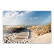 Acrylglasbild An Der Ostsee Wall Artde