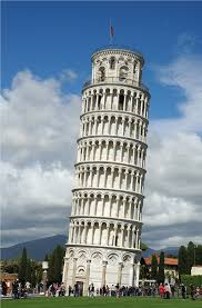 Perfect World Famous Architecture Buildings Leaning Tower Pisa The Campanile Of Cathedral In Beautiful Design