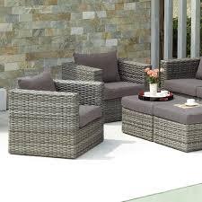 Patio marvellous gray wicker patio furniture gray wicker patio