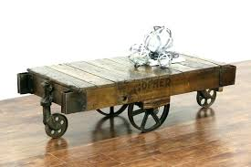 railroad cart table cart coffee table furniture factory cart coffee table antique industrial cart coffee table inside industrial cart coffee table railroad
