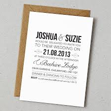 Wording For Wedding Invitations Uk Modern