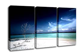 beach 3 panel dead tree beach canvas art on 3 panel wall art beach with dead tree beach beach 3 panel canvas 3 panel set canvas