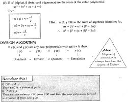 Polynomials - CBSE Notes for Class 10 Maths - Learn CBSE
