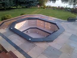 permits for spas and hot tubs like this are required to build this hot tub